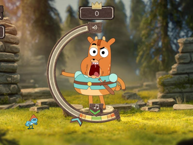 A screenshot from Ivandoe: The Adventure Games