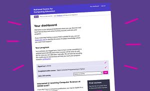 National Centre for Computing website screenshot